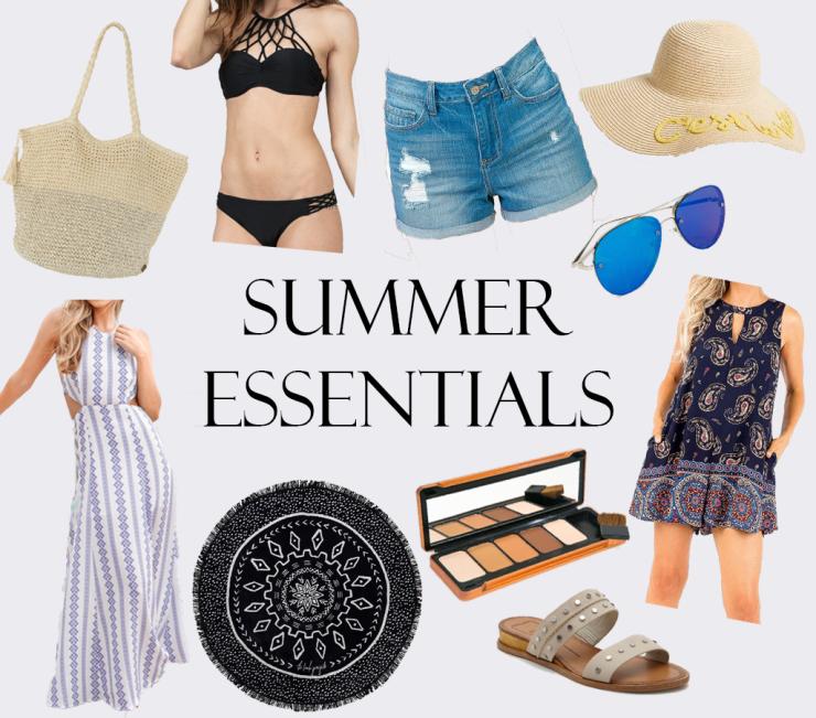 Summer Essentials Collage png