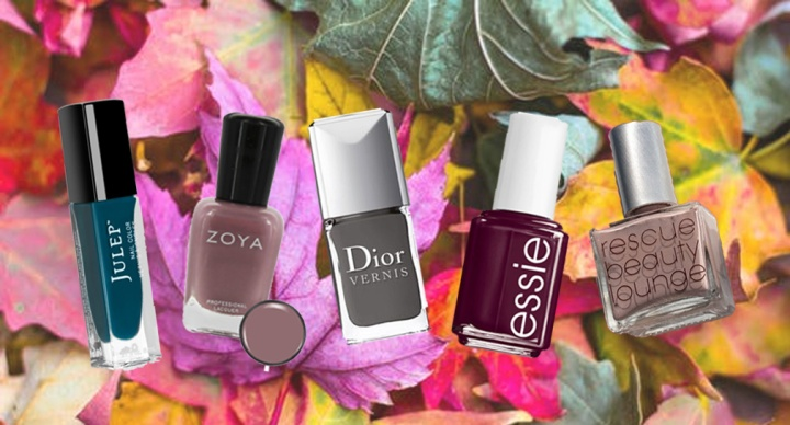 The Top Nail Colors of Fall 2017